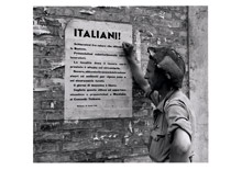 The Germans seem to have lost their commanding tone in this notice appealing to Italians to work for them - with Sunday free - September 1st, 1944